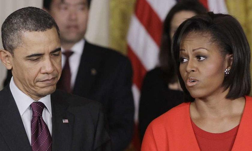 Obama nie przyleci do Polski? Michelle się boi!