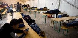 Pijani Polacy napadli na obóz dla uchodźców