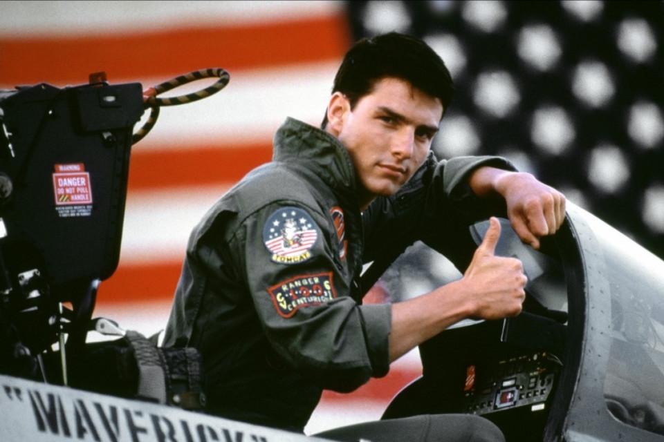 """Top Gun"", reż. Tony Scott, 1986 r."