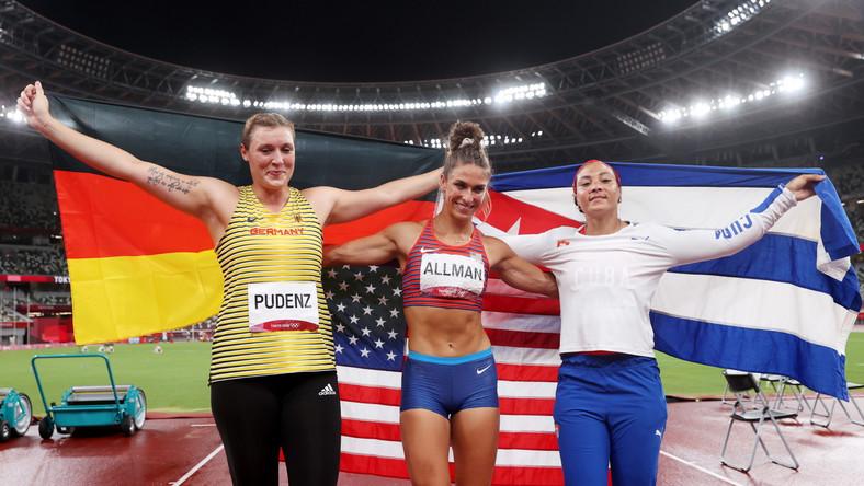 Medalistki konkursu rzutu dyskiem