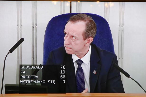 """Marszałek Senatu Tomasz Grodzki (KO) przyznał w TVN24, że tzw. tarcza antykryzysowa, zawierająca wniesione przez senatorów poprawki, będzie teraz testem """"dobrej woli"""" dla Sejmu i rządzących."""