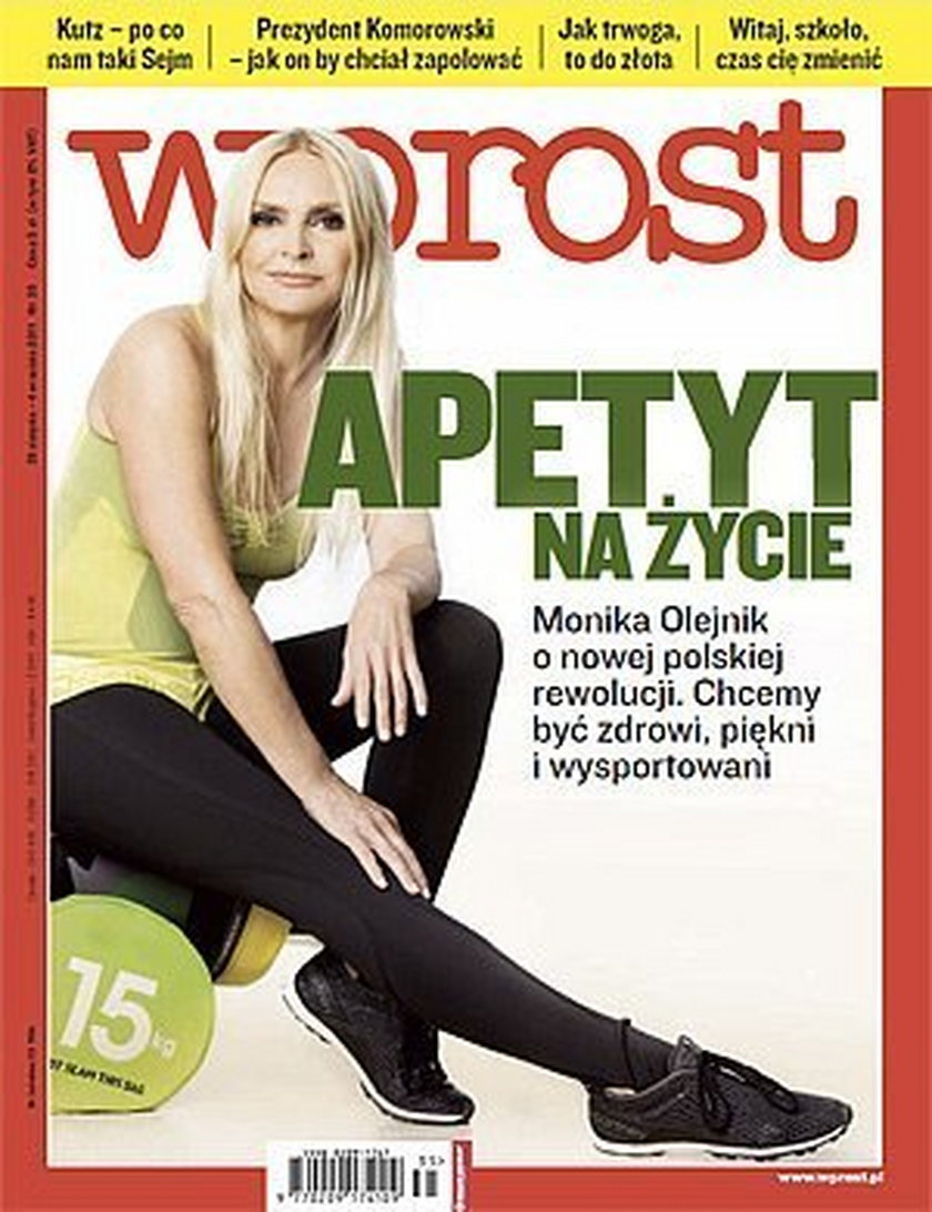 Monika Olejnik retusz Photoshop