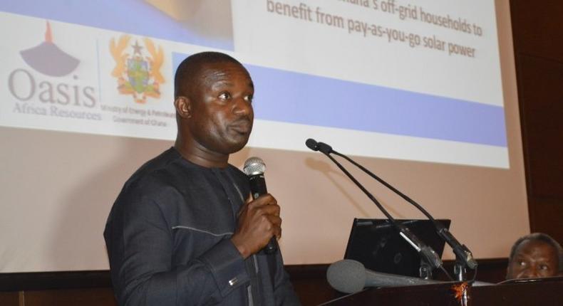 Deputy Minister for Power John Jinapor