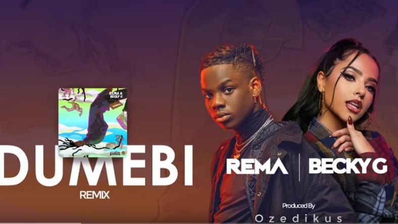 Rema features Becky G on, 'Dumebi  (Remix).' (Jonzing/Mavin)