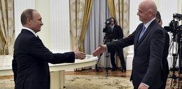 Putin rozmawiał z szefem FIFA w sprawie MŚ 2018