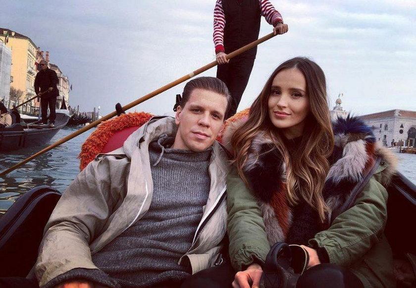 Marina Łuczenko-Szczęsna z mężem