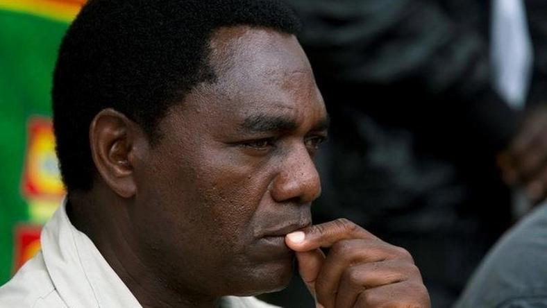 Opposition leader says Zambia unlikely to have free elections