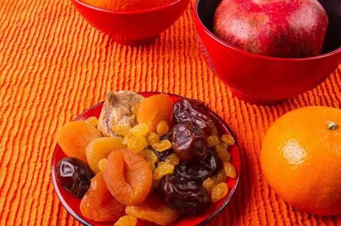 Sveže i suvo voće ne treba jesti nakon kuvanog obroka