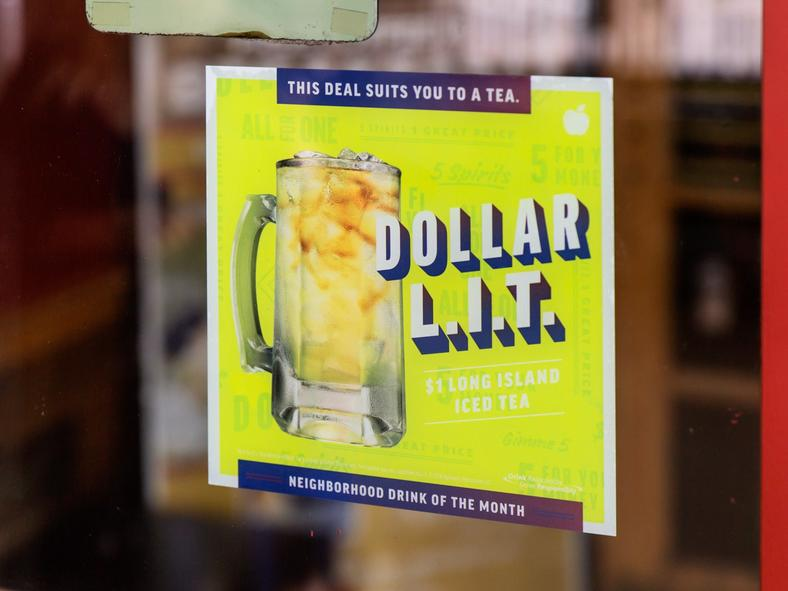 The Dollar L.I.T. followed in the Dollarita's footsteps.