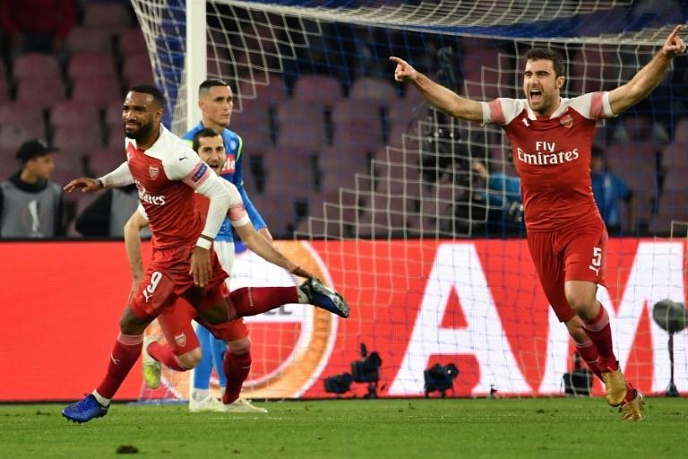 Arsenal have had notable successes, winning home and away to Napoli in the Europa League quarter-finals