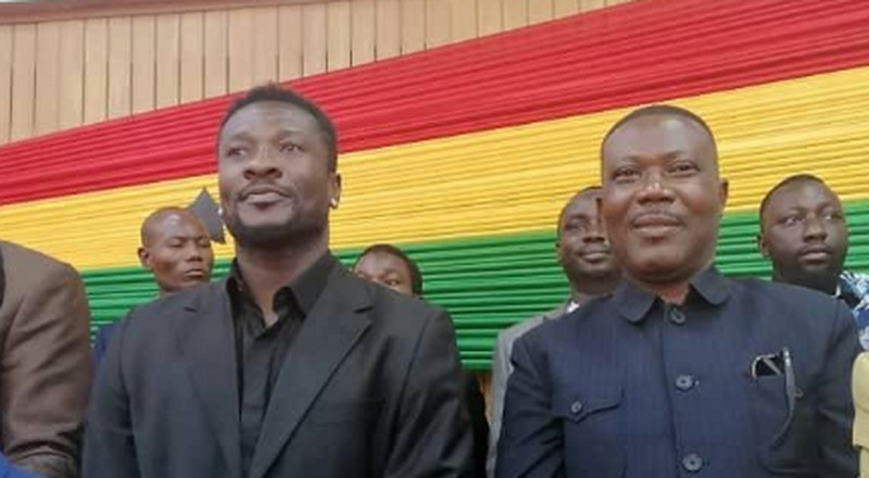 SONA 2020: Asamoah Gyan in Parliament for Akufo-Addo's State of the Nation Address