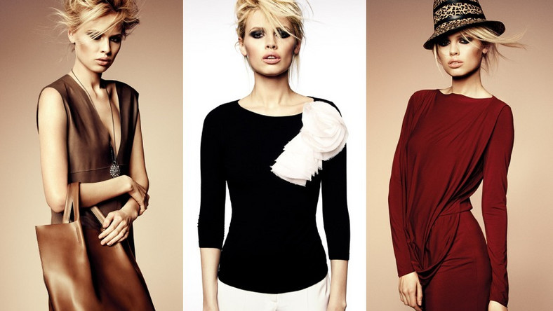 Modelka Maria K. w kampanii wizerunkowej kolekcji Deni Cler Milano na sezon jesień/zima 2012/2013