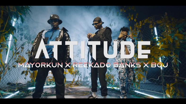 Mayorkun, Reekado Banks and BOJ feature on 'Higher Your Body' by Attitude. (Faya Muzik)