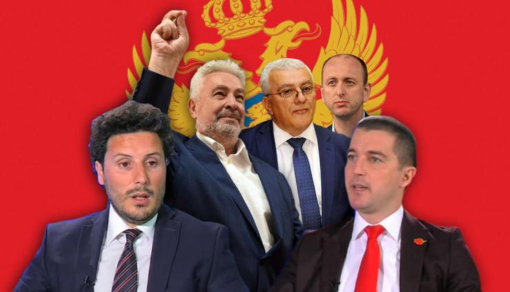 abazovic becic krivokapic mandic knezevic RAS EPA Boris Pejovic tanjug zoran zestic Shutterstock Youtube A1TV Montenegro