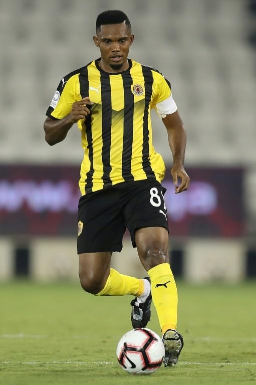 Eto'o ended his playing career with a spell turning out for Qatar SC