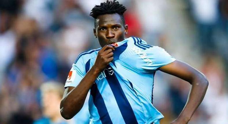 Michael Olunga scored an impressive 12 goals in his debut season at Djurgardens IF where he was the club's top goal scorer.
