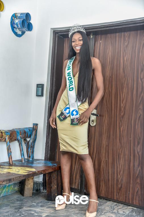 Nyekachi started her modelling career as a volunteer [Credit: Pulse NG]