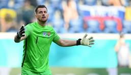 Dubravka's Slovakia slipped to a 1-0 loss to Sweden Creator: Kirill KUDRYAVTSEV
