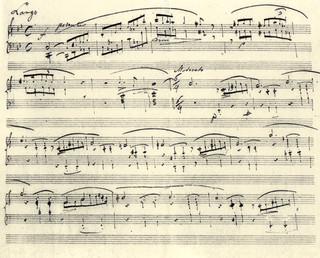 Autograf fragmentu Ballady g-moll trafił do zbiorów Muzeum Fryderyka Chopina