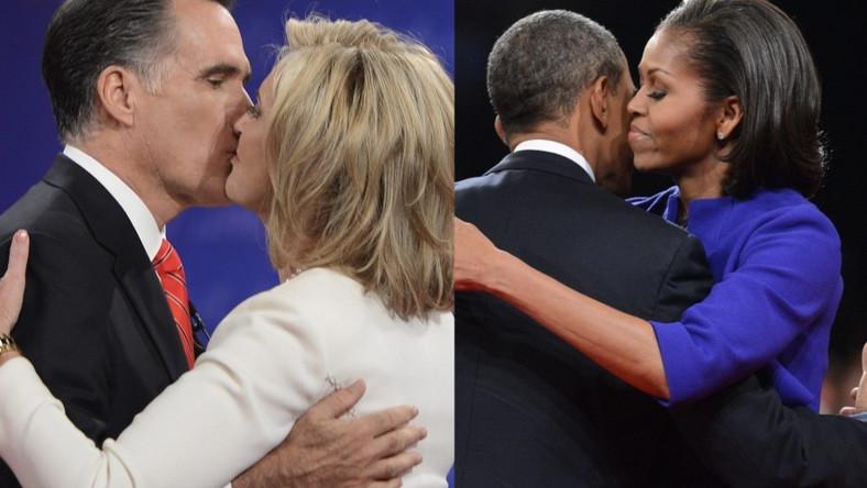 Tak małżonki kandydatów na prezydenta USA gratulowały wystąpień swoim partnerom
