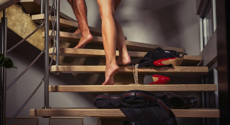 Couple going t the bedroom (Courtesy)