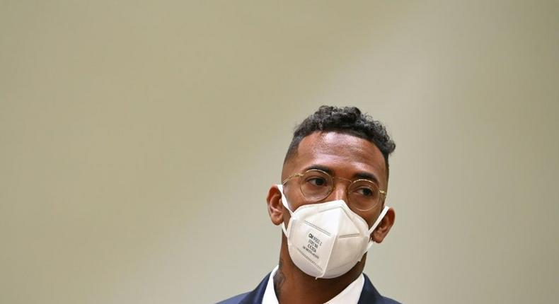 Jerome Boateng was convicted last week of assaulting his former partner Creator: CHRISTOF STACHE