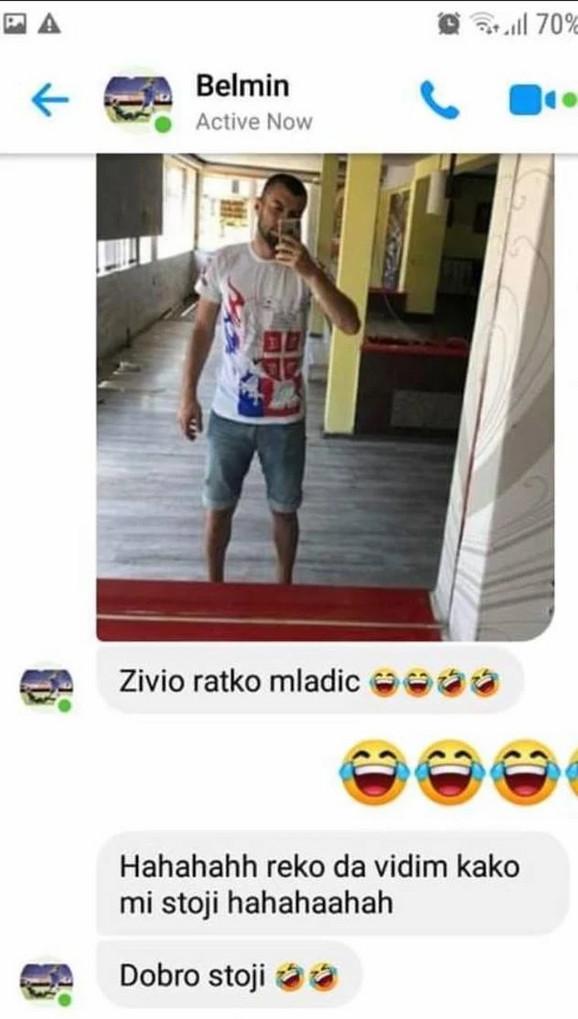 Belmin Halilović, poruka