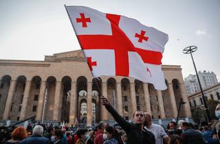 Gruzińskie Marzenie ogłoszone zwycięzcą wyborów parlamentarnych. Opozycja protestuje