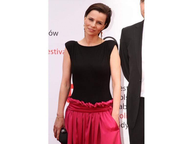 Okazało się, że ciekawą suknię Agaty Kuleszy zaprojektował Stefano Terrazzino - dotychczas znany przede wszystkim jako tancerz.