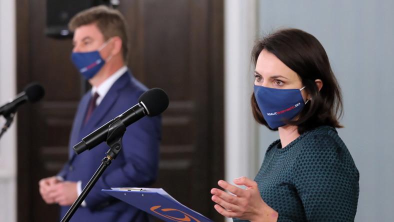 Kamila Gasiuk-Pihowicz i Jan Grabiec