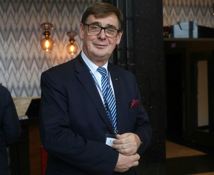 Prezes PKP Krzysztof Mamiński ma zastąpićministra infrastruktury Andrzeja Adamczyka