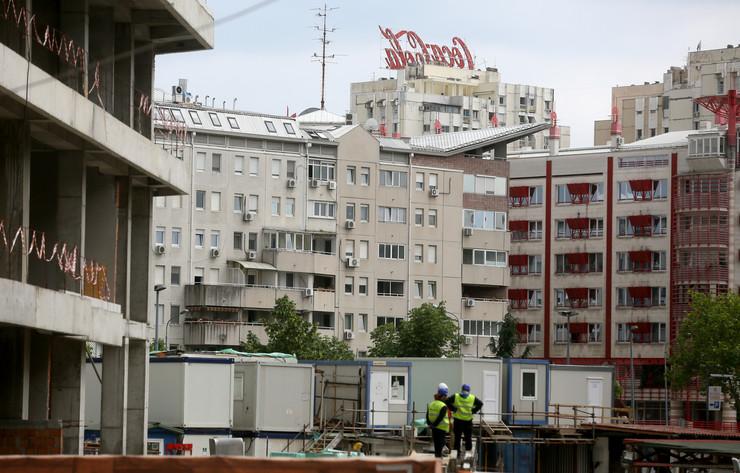 Beograd Gradnja na novom beogradu RAS foto Oliver Bunic