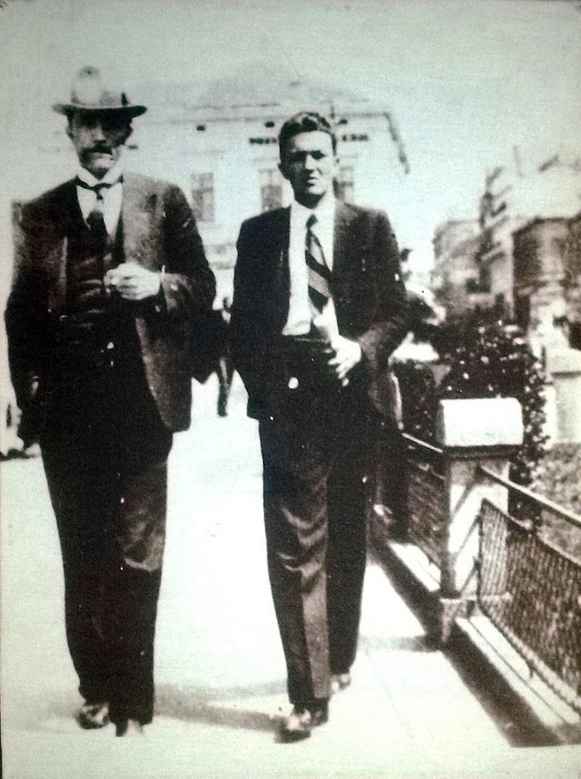 Žikica Jovanović Španac (desno)