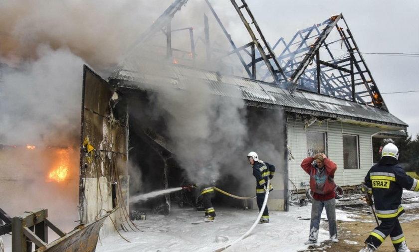 Właściciel już drugi raz stracił w pożarze dom