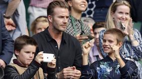 Syn Beckhamów śpiewa jak Justin Bieber