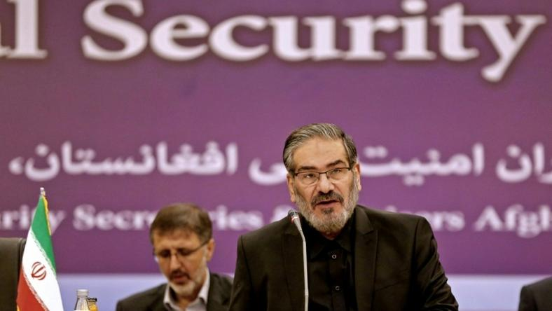 Ali Shamkhani, secretary of Iran's Supreme National Security Council, speaking in Tehran on September 26, 2018