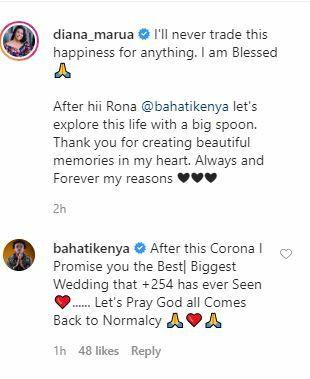 I promise you the biggest wedding Kenya has ever seen - Bahati to Diana Marua