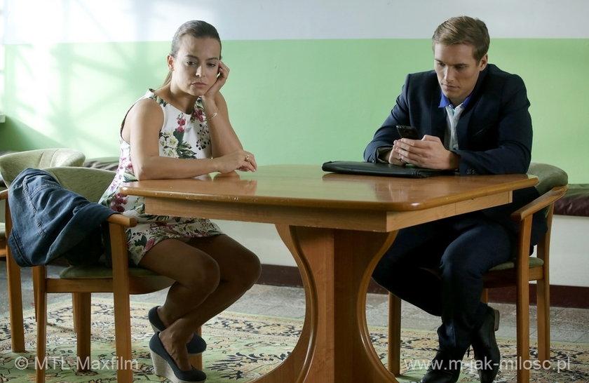 """Magda (Anna Mucha) i Olek (Maurycy Popiel) z """"M jak miłość"""""""
