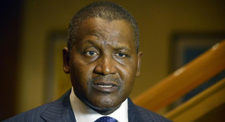 Alhaji Aliko Dangote, Africa's richest man and owner of Dangote Farms Limited