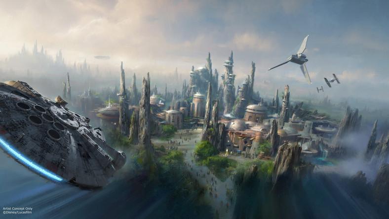 """""""Gwiezdne Wojny"""" w parkach rozrywki Disneya"""