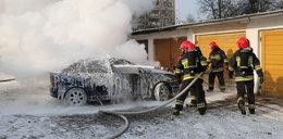 W Opolu spłonęło auto. Dlaczego?