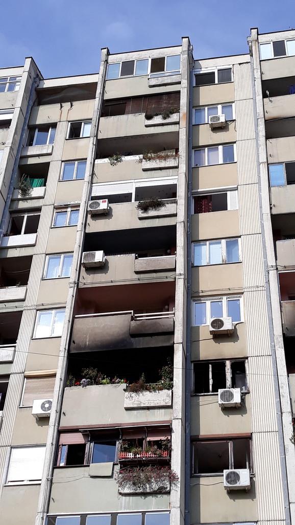 Iz zgrade u kojoj živi 150 stanara evakuisano 13 ljudi