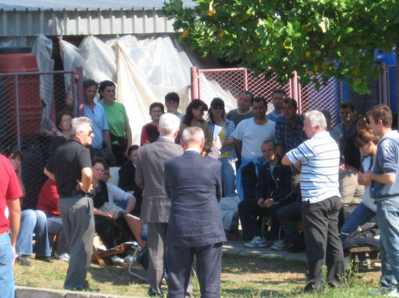"""Letošnji bezuspešni pregovori štrajkača sa predstavnicima menadžmenta """"Inveja"""""""