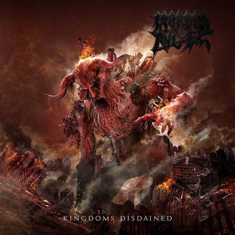 "MORBID ANGEL – ""Kingdoms Disdained"""