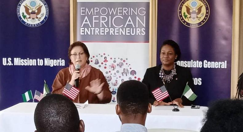 US consulate support Tony Elumelu Foundation