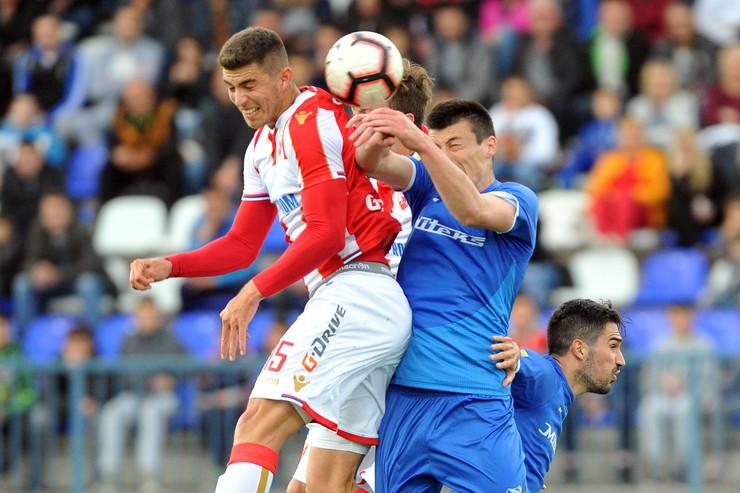 FK Mladost Lučani, FK Crvena zvezda