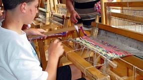 Warsztaty ginących zawodów - kaflarstwa, filcowania wełny i plecionkarstwa w Muzeum Kultury Ludowej w Węgorzewie