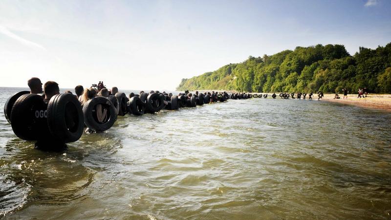 Desant ekstremalnego Runmageddonu na gdyńskie plaże w Babich Dołach
