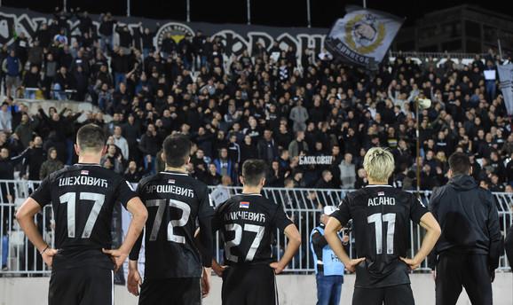 Fudbaleri Partizana