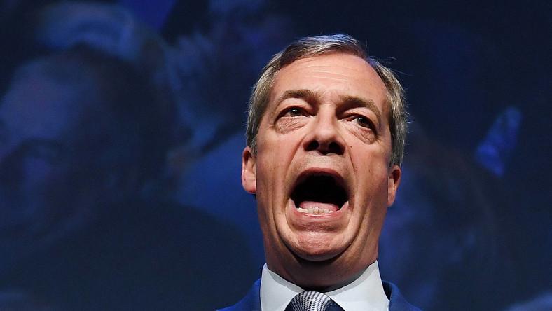 Nigel Farage, czołowy brytyjski eurosceptyk